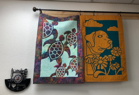 Two Fabric Applique