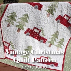 Vintage Christmas quilt